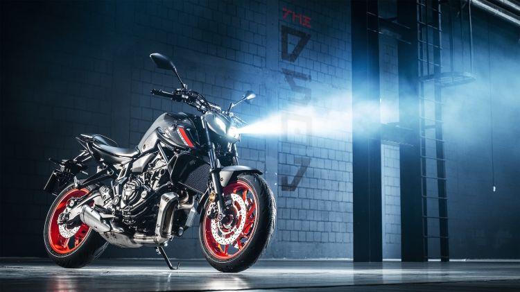Moto Yamaha Mt07 2021 Leds