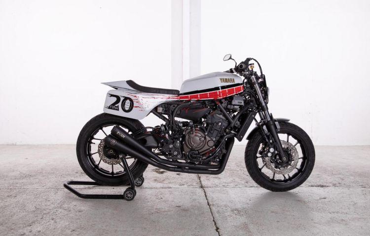 Moto Yamaha Xsr700 Espana