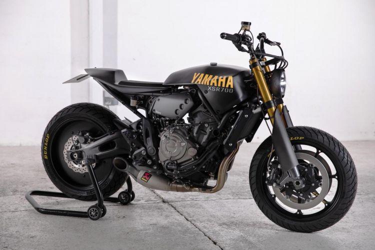 Moto Yamaha Xsr700 Francia