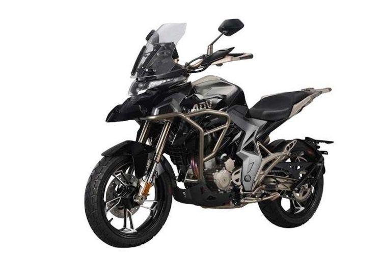 Moto Zontes T310 Negro 1