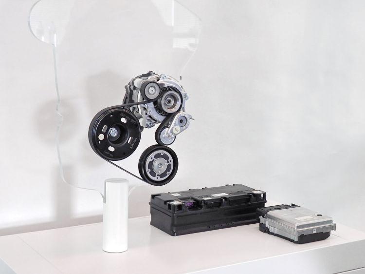 Motor De Arranque Mild Hybrid 48v