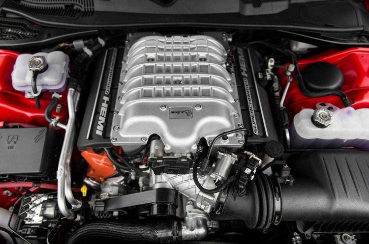 Motor Hellcat V8 Compresor