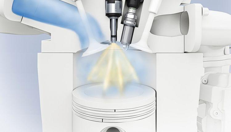 Motor Inyector Gasolina Bujia 0319 01