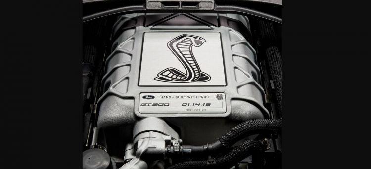 Motor Mustang Gt500 2020