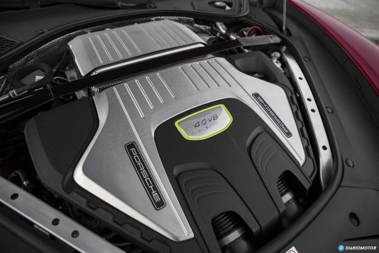 Motor Porche Hibrido Enchufable
