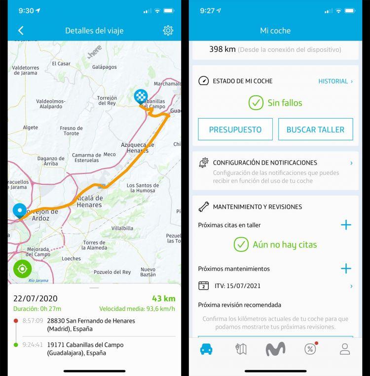Movistar Car Coche Conectado Aplicacion 4