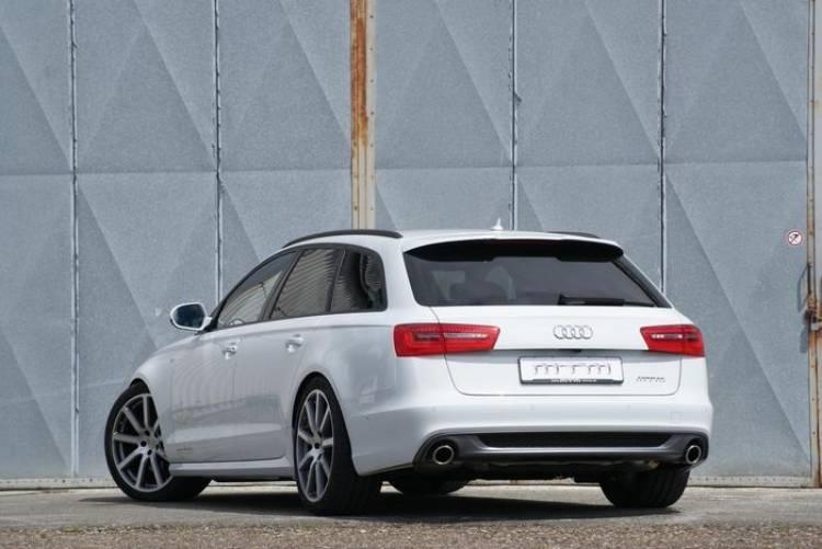 MTM iguala el Audi A6 Avant al BMW M550d