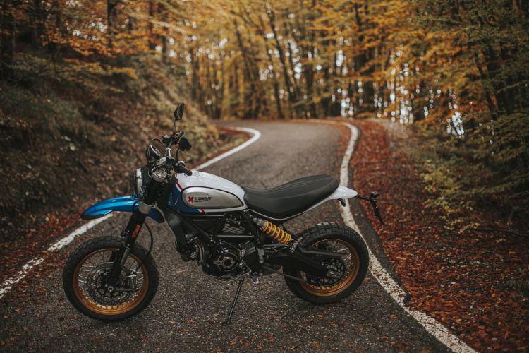 Multa Conducir Moto A Carnet A2 Ducati Scrambler 2021 Desert Sled