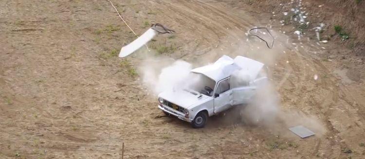 Neumatico Lada Explosion