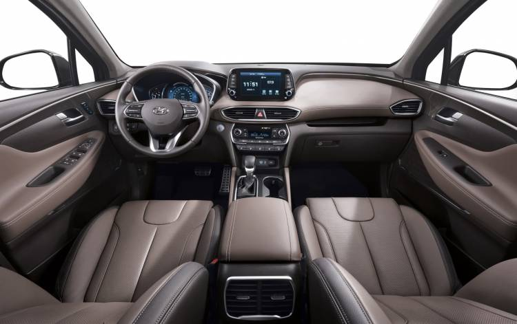 New Generation Hyundai Santa Fe Interior 2