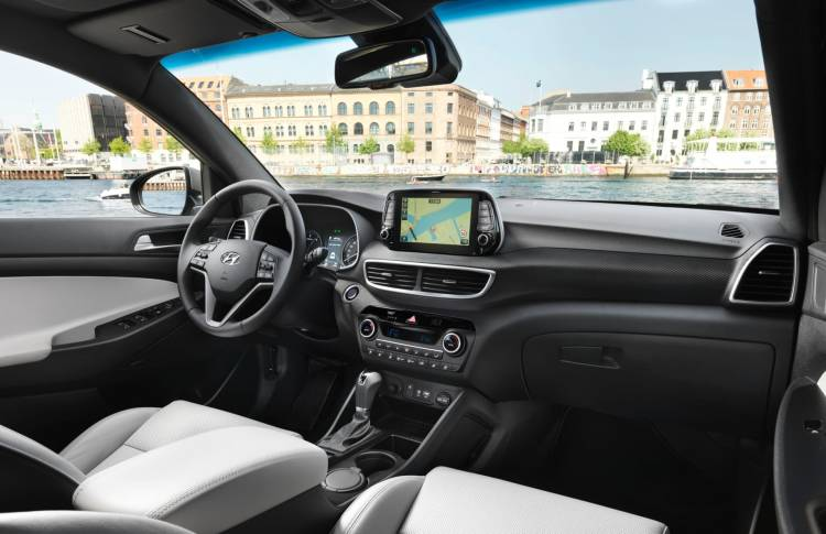 New Hyundai Tucson Interior 2