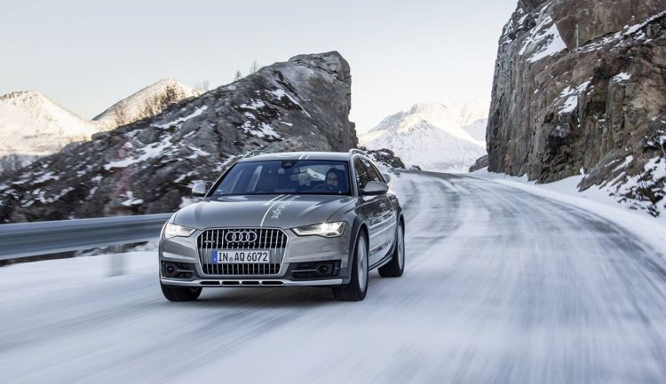 nieve audi 750x - 10 tips on how to travel by car with snow