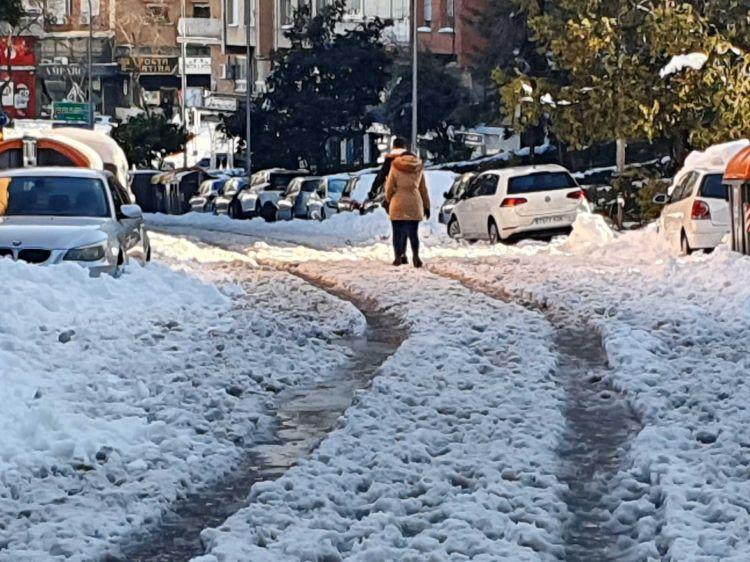 Nieve Nevada Danos Madrid Filomena 01