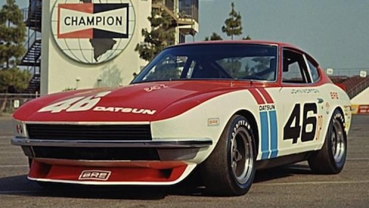 Datsun 240 BRE, ganador de la SCCA de hace 40 años
