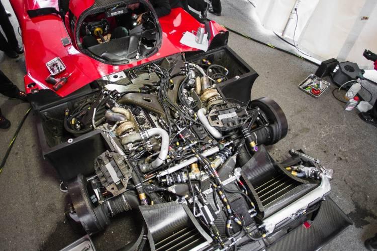 Nissan GT-R LM Nismo Engine