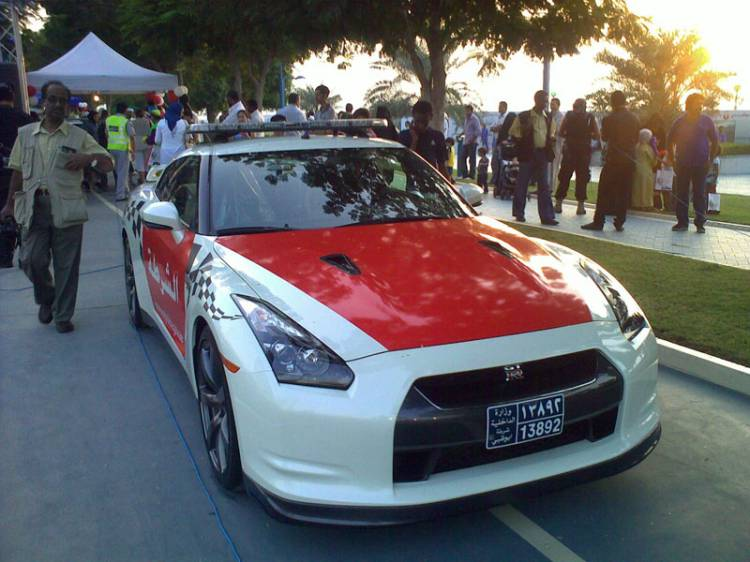 Nissan GT-R policial