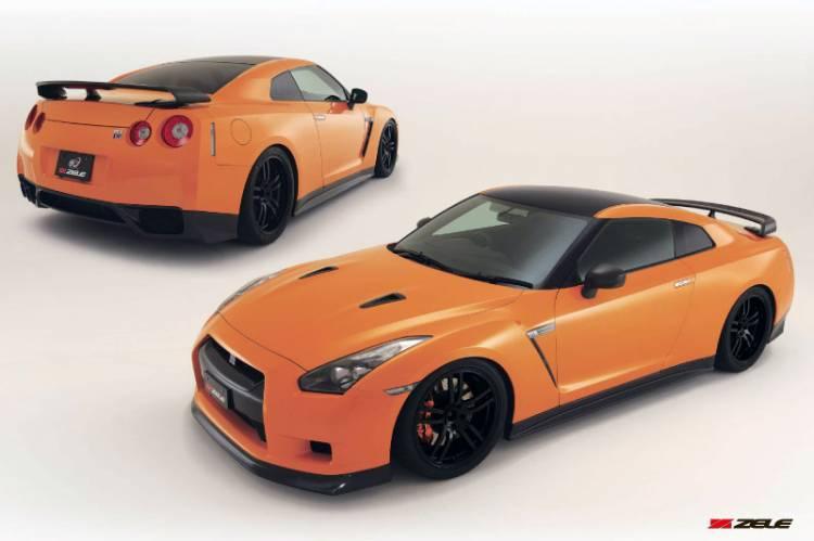 Nissan GT-R R35 Zele