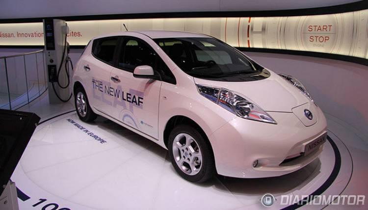 Nissan Leaf 2013, coche eléctrico