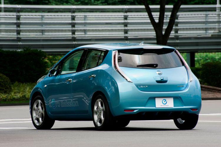 Nissan Leaf Primera Generacion Trasera