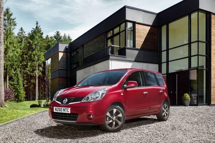 Nissan Note MY2011 para el Reino Unido