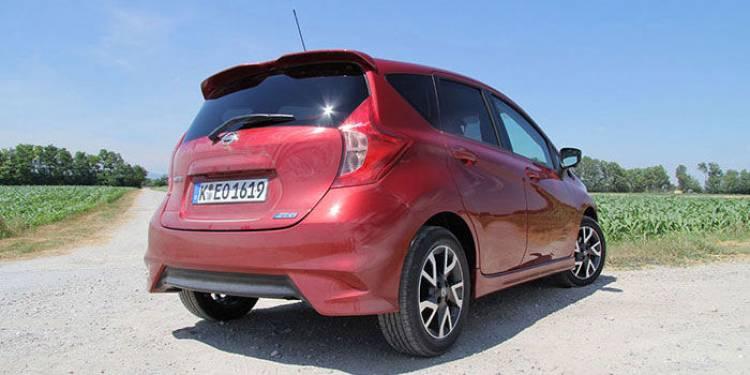 Nissan Note 2014, prueba en Bratislava