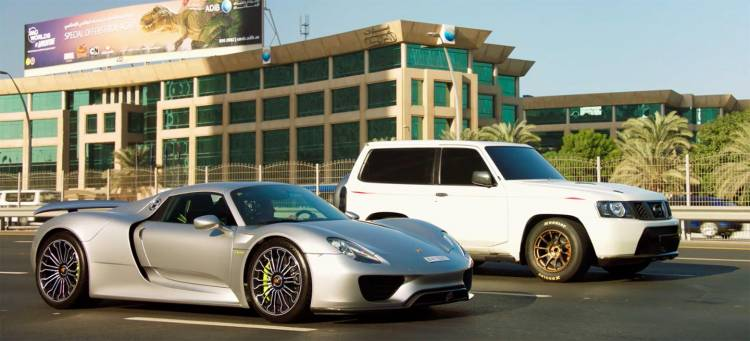 nissan-patrol-porsche-918-spyder-the-grand-tour