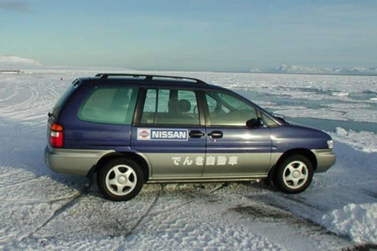 Nissan Prairie EV, seis años de perfecto servicio en el Ártico