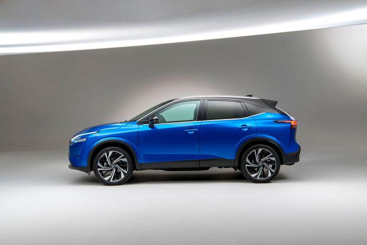 Nissan Qashqai 2021 Exterior Azul 01
