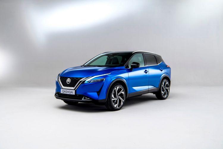 Nissan Qashqai 2021 Exterior Azul 04