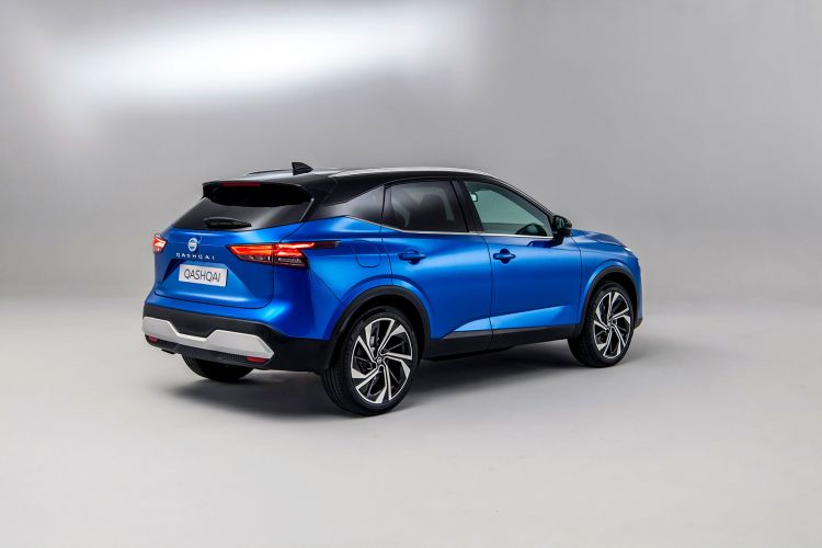 Nissan Qashqai 2021 Exterior Azul 06