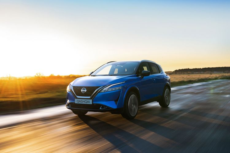 Nissan Qashqai 2021 Exterior Azul 23