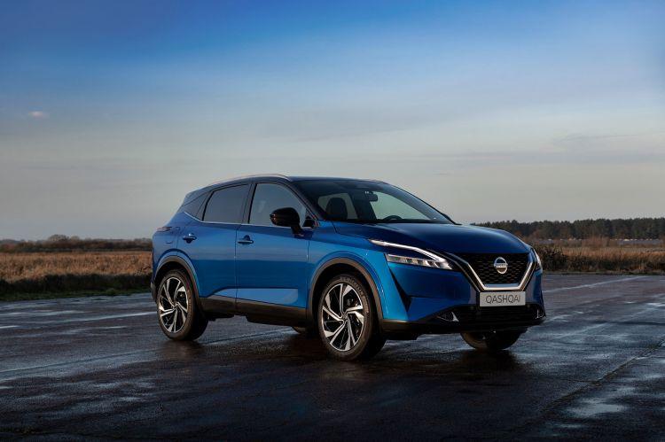 Nissan Qashqai 2021 Exterior Azul 26