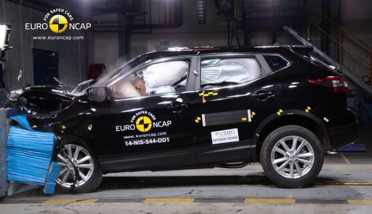 Nissan Qashqai EuroNCAP