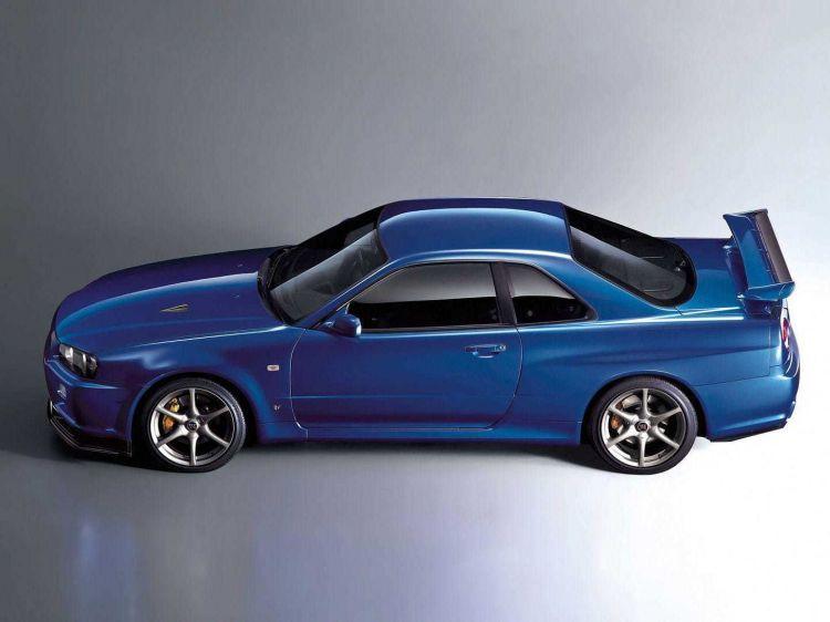 Nissan Skyline Gt R R34 Anos 90