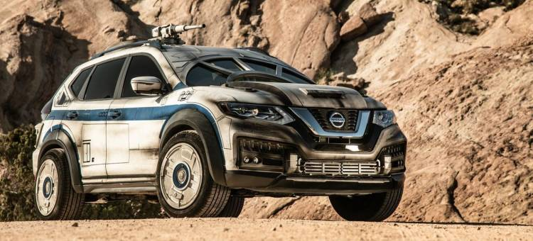 Nissan X Trail Halcon Milenario P