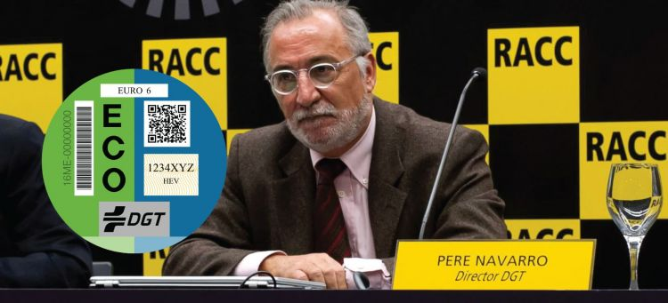 No Cambio Etiquetas Dgt Pere Navarro Etiqueta Eco