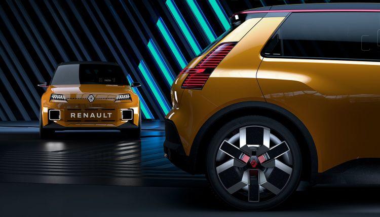 Nuevo Renault 5 Photoshop Marron