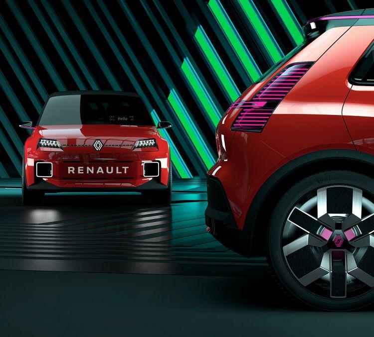 Nuevo Renault 5 Photoshop Rojo