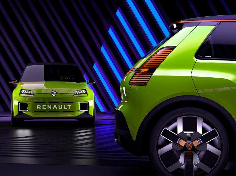 Nuevo Renault 5 Photoshop Verde
