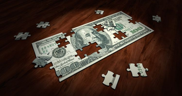 Nuevo Reparar Coche Viejo Dinero Puzzle