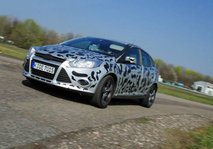 El nuevo Ford Focus ST de pruebas