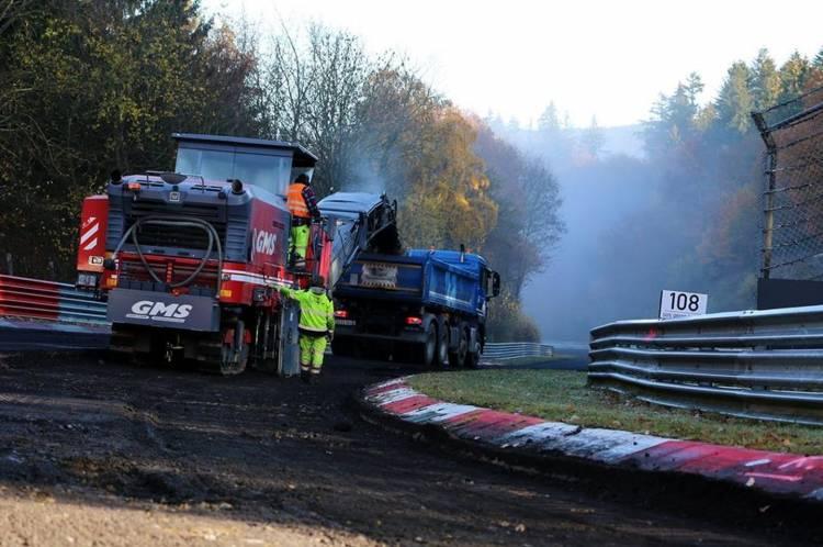 Nurburgring Asfalto Nuevo 4