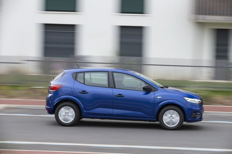 Oferta Etiqueta Eco Abril 2021 Dacia Sandero Glp Exterior Lateral