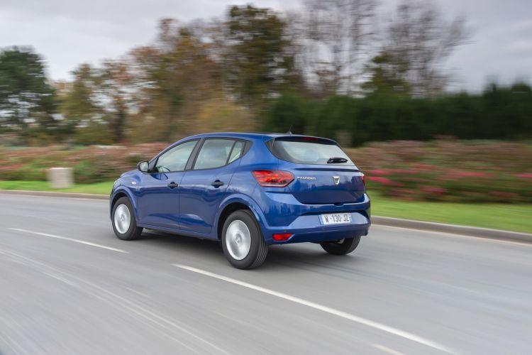 Oferta Etiqueta Eco Abril 2021 Dacia Sandero Glp Exterior Trasera