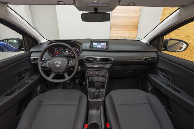 Oferta Etiqueta Eco Abril 2021 Dacia Sandero Glp Interior Salpicadero