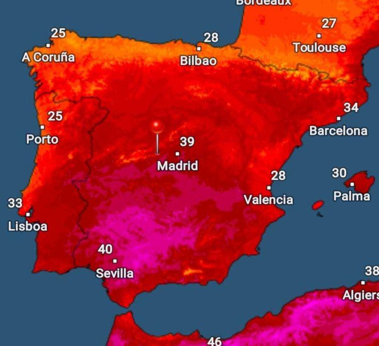 Ola De Calor Espana