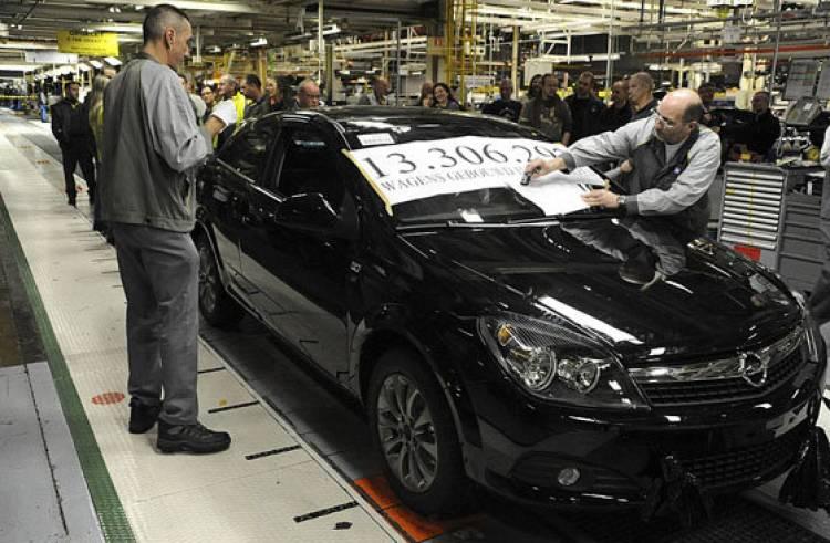 Cierre fábrica Opel Amberes
