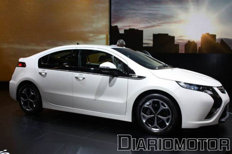 Opel Ampera de producción en Ginebra
