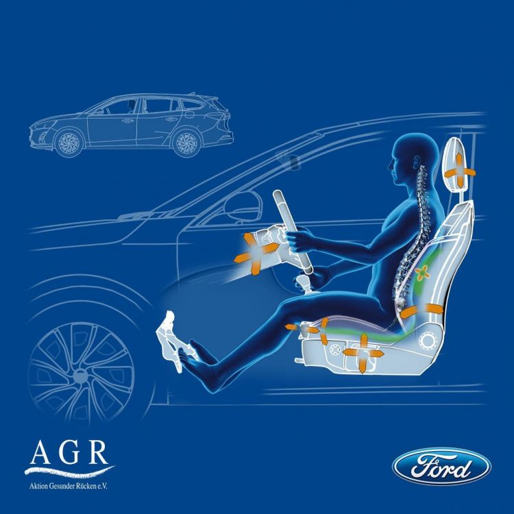 All New Ford Focus Seats Praised By Medical Experts For Helping