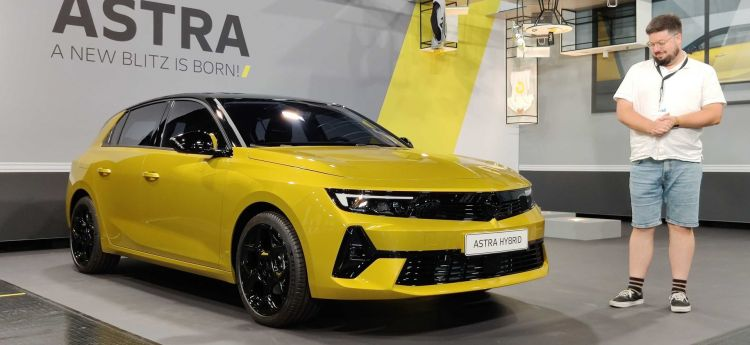 Opel Astra 2022 Video